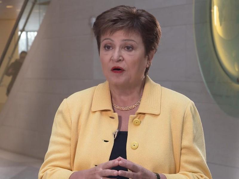IMF Media Center : IMF Georgieva Coronavirus Impact