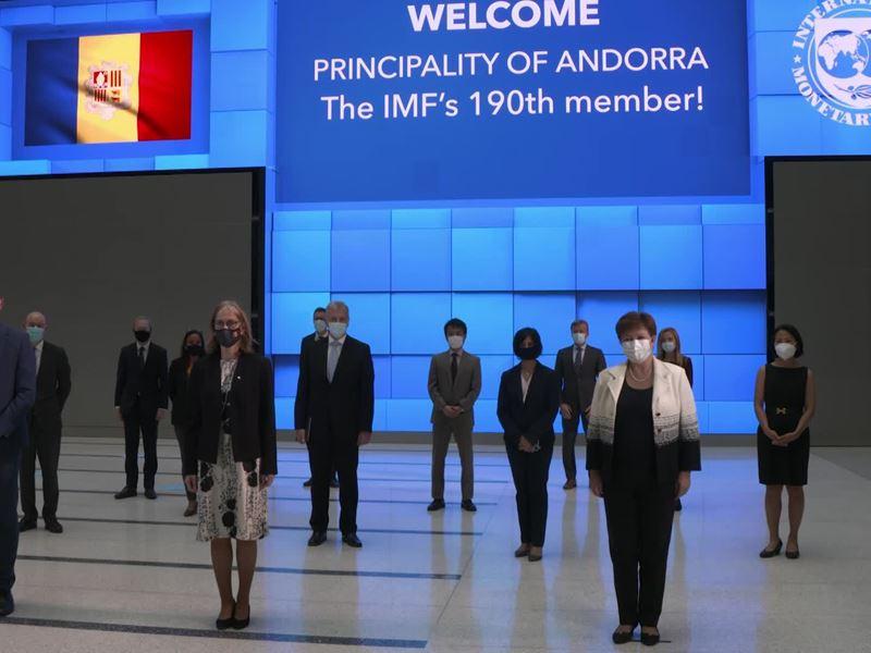 IMF / Principality of Andorra becomes IMF's 190th Member