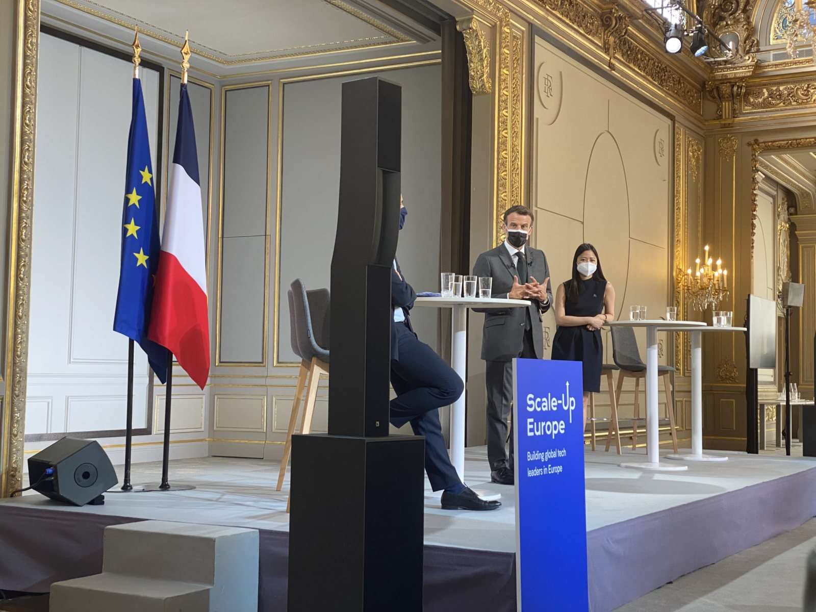 DIGITAL SME joins President Macron in Paris to launch Scale-Up Europe 🚀