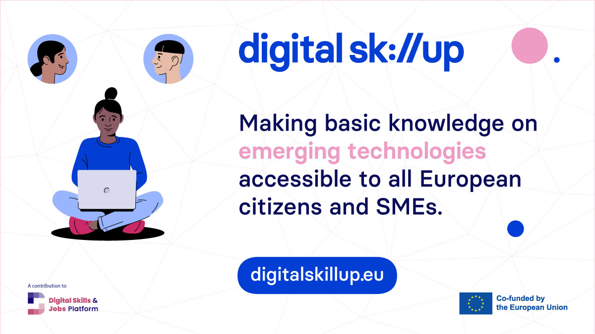 Digital SkillUp launches free innovative online courses on emerging technologies for SMEs and individuals