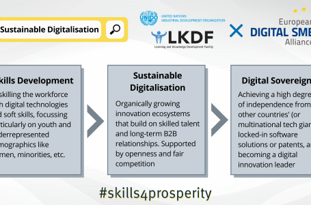 How skills development contributes to sustainable digitalisation and digital sovereignty