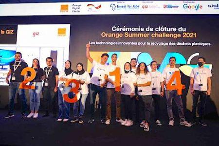 11e édition du Orange Summer Challenge, placé sous la thématique du recyclage des déchets plastiques