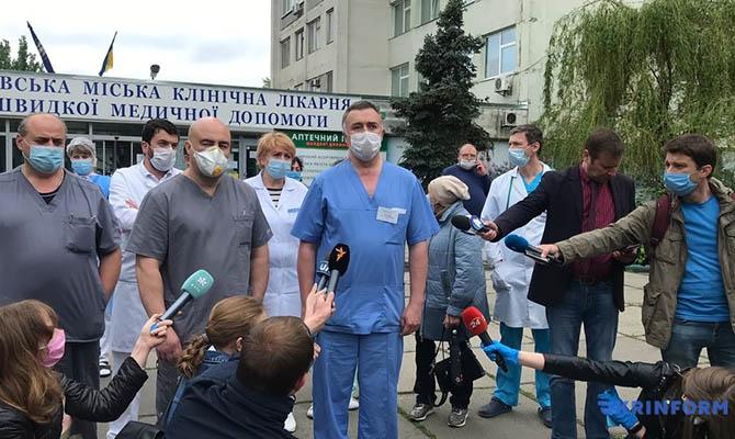 Киевские медики с 1 января получат новые надбавки