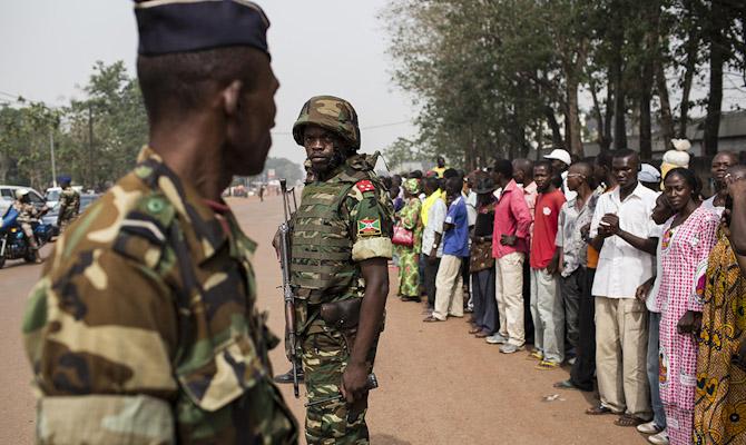 Россия направила 300 военных в Центральную Африку