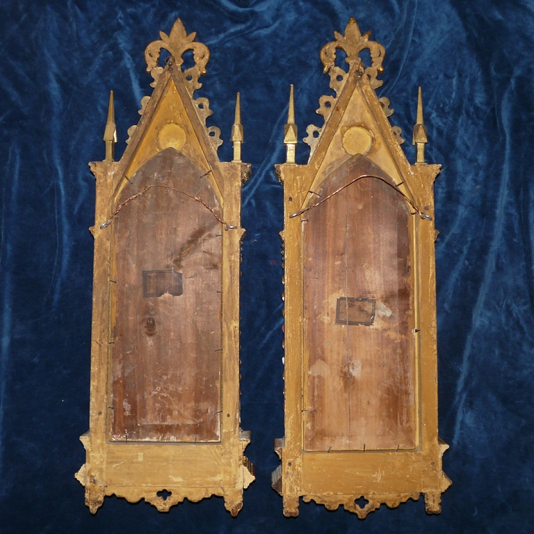 Capital Antiques Amp Fine Art A Pair Of Grand Tour 19th Century Italian Carved And Gilt Wood