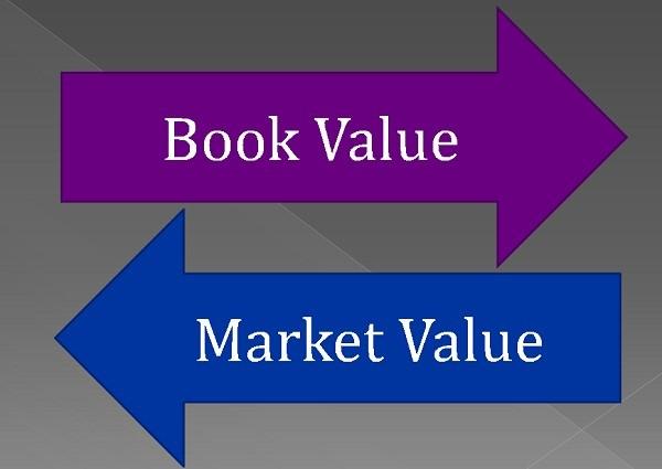 book value vs market value