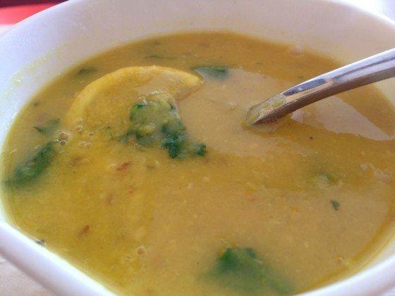 Dal soup at Mia