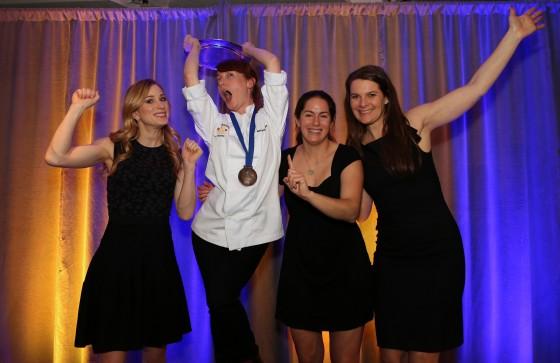 Marysol and Olympians. Photo thanks to Greg Kolz