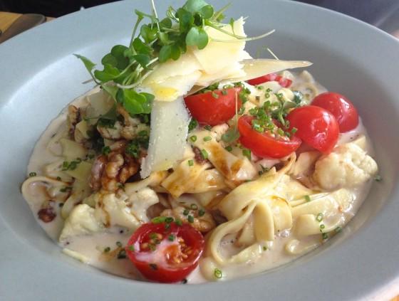 Fraser Cafe pasta