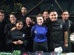 Chef Trisha Donaldson & Team Ace Mercado