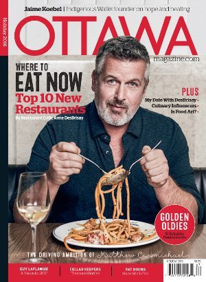 Ottawa Magazine 2016 Winter Cover