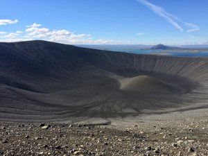 The view from Hverfjall