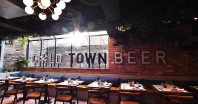 Cold Town Beer interior