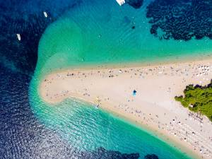 Zlatni Rat beach, Croatia
