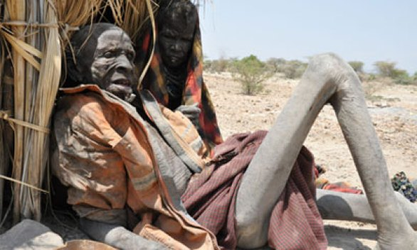 Image result for The ugly face of hunger in Turkana
