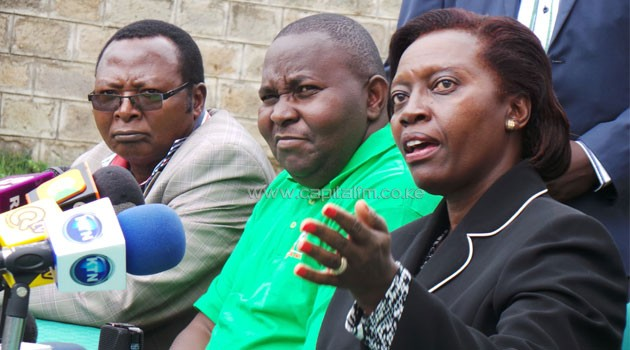 Martha Karua disagrees with those who blamed the Saba Saba CORD rallies for heightened political and ethnic animosity in the country/MIKE KARIUKI