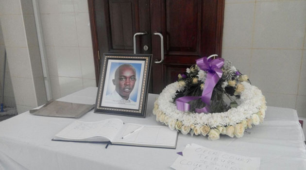 In recognition of his work, lawyer Kimani has now been named Jurist of the Year after he paid the ultimate price while defending human rights/FILE