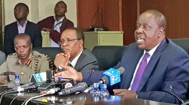 Matiangi rails against 'activist captured' judiciary to MPs ...