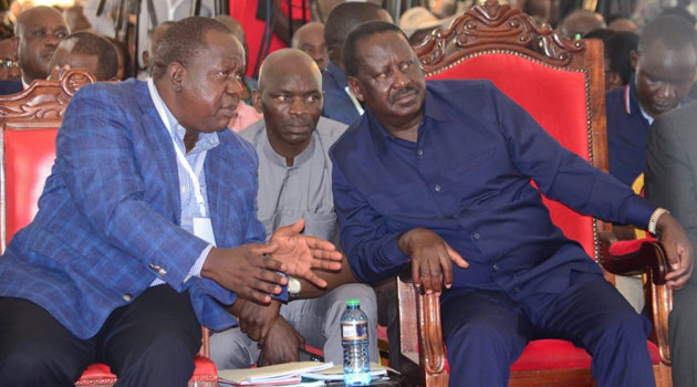 Odinga, Matiangi vow to mobilize support for BBI report during ...