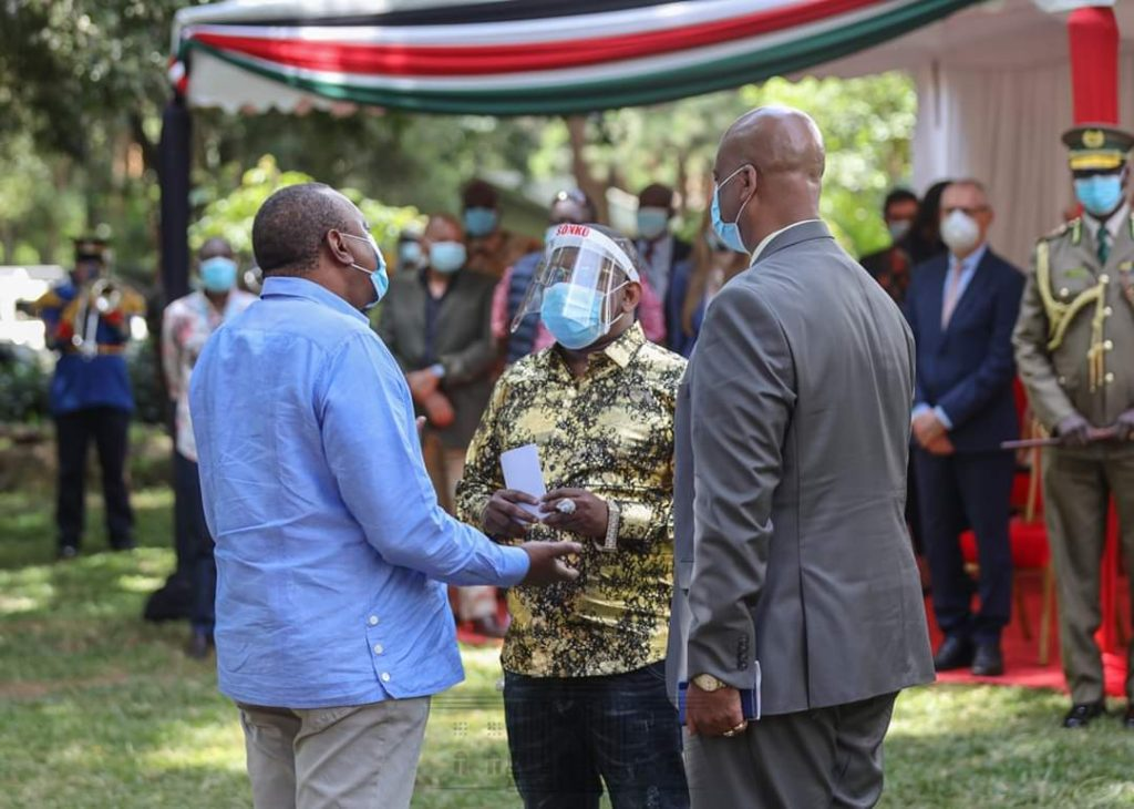 Uhuru urges Sonko and Badi to work together in first face-to-face meeting » Capital News