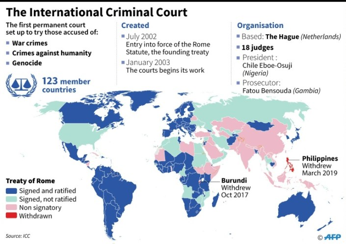 US slaps sanctions on war crimes court prosecutor