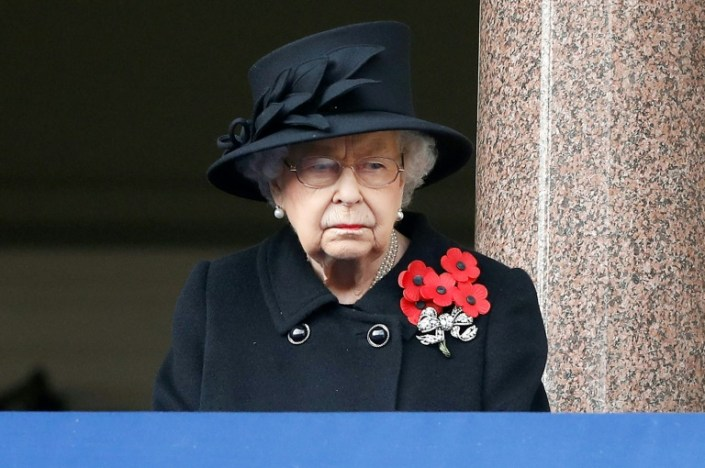 UK honours war dead on virus-afflicted Remembrance Day