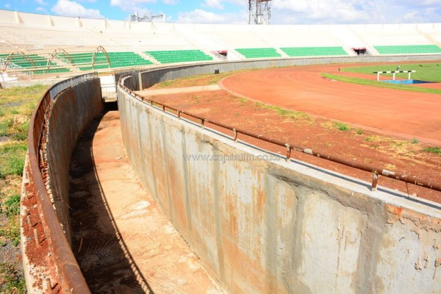 Image result for nyayo stadium closed for renovation