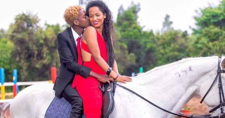 Image result for eric omondi with chantal