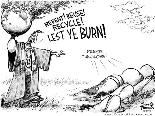 The Urban Religion of Recycling