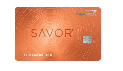 Capital One Savor Card