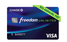 Chase Freedom Unlimited (New Offer): Receive 3 Percent Cash Back On Everything Your Purchase For 15 Months