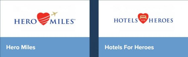 Hero Miles and Hotels for Heroes