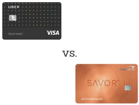 Capital One Savor vs Uber Visa