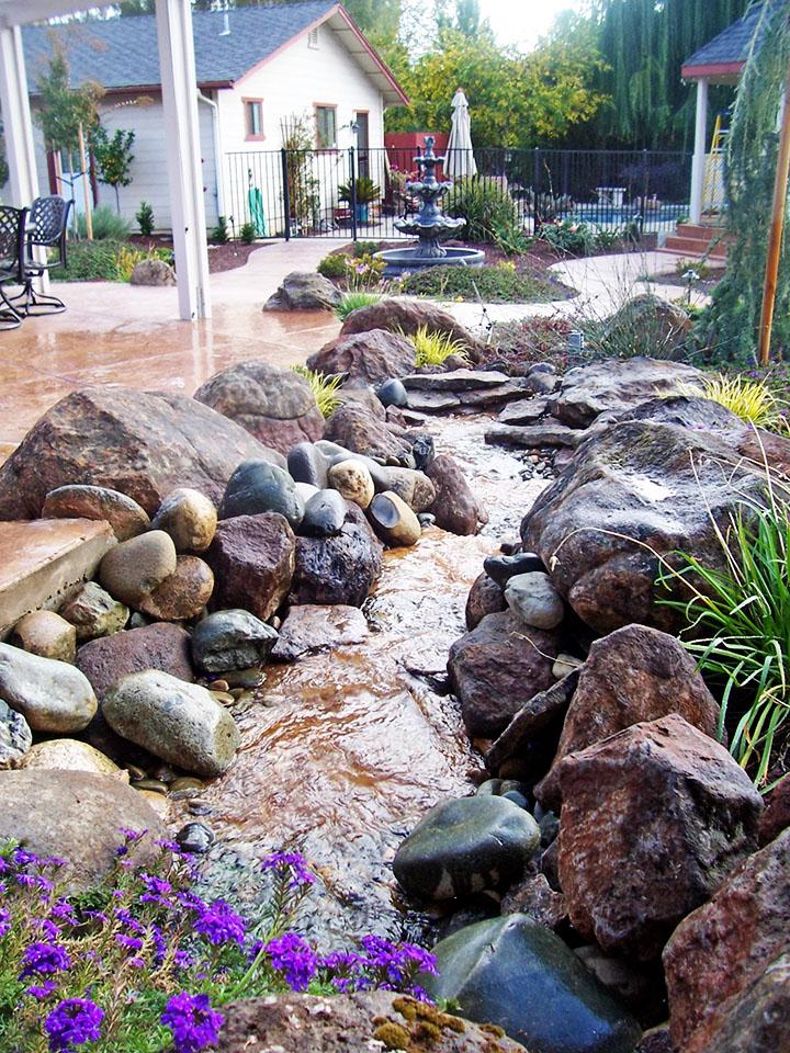 How to Pick a Landscape Designer - Sacramento Landscape on Backyard Rocks  id=91317