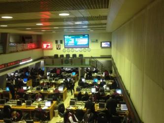 Nigeria trading floor