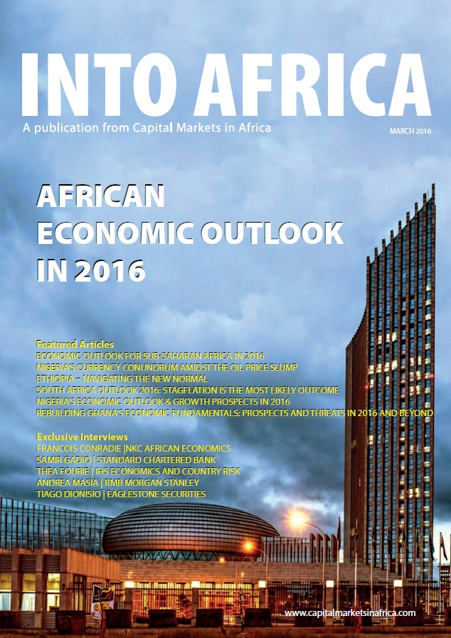 INTO AFRICA: African Economic Outlook in 2016