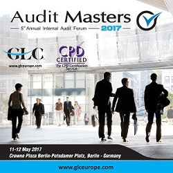 5th Annual Internal Audit Forum Berlin, Germany. 11-12 May 2017