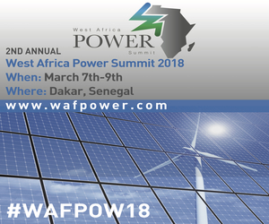 West Africa Power Summit 2018, 7th - 9th March