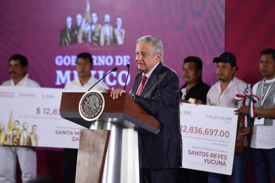 AMLO apoyo Oaxaca