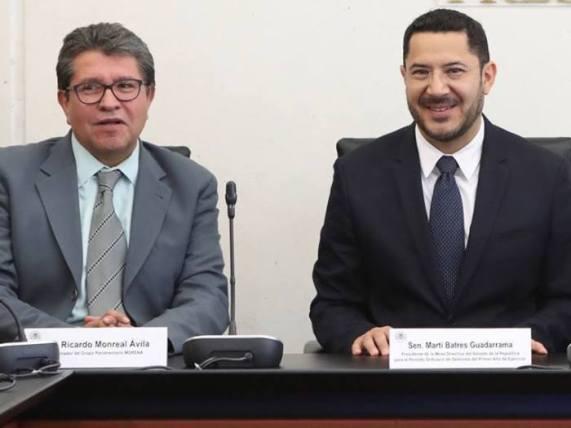 Martí Batres y Ricardo Monreal
