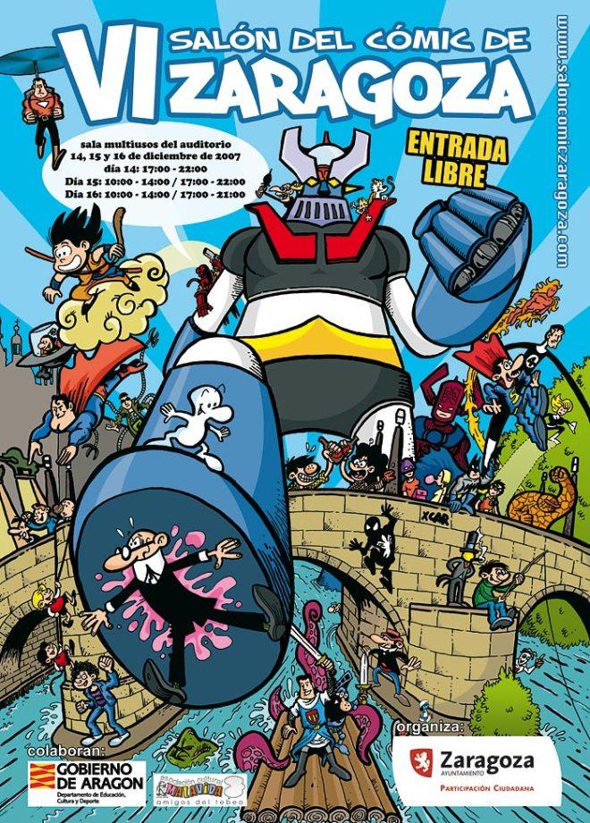 VI Salón del cómic de zaragoza