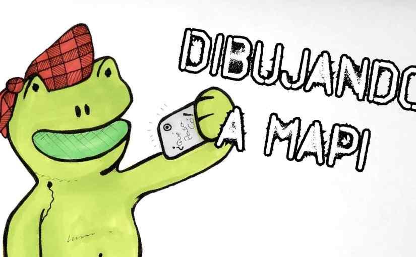 Dibujando a Mapi – Vlog 004
