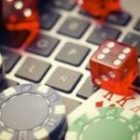 keyboard and dices