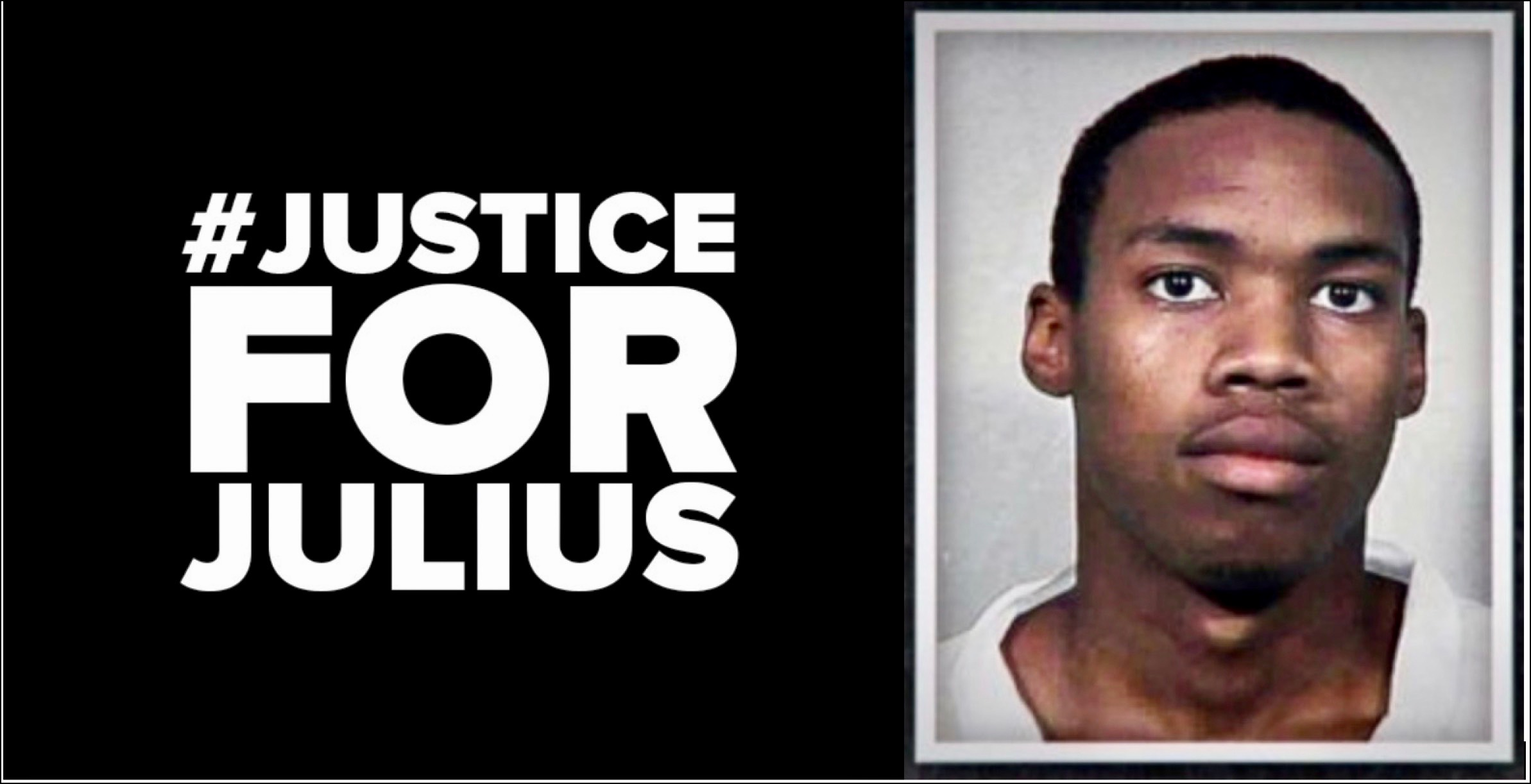 Justice for Julius with photo 2Aug2020