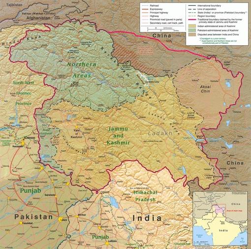 Kashmir region 2004 10