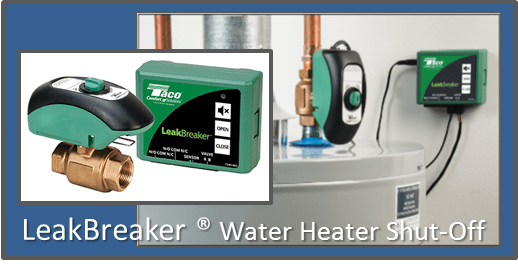 Taco LeakBreaker Water Heater Shut-Off