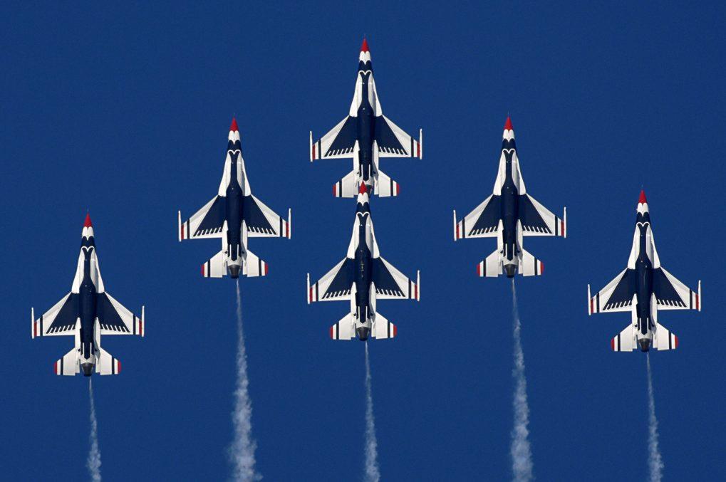 Thunderbirds Formation