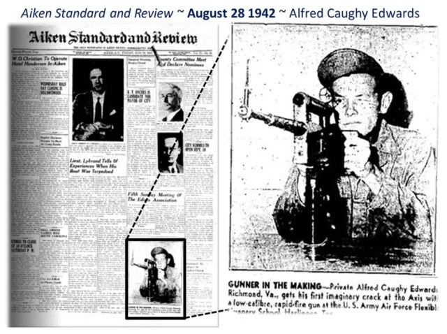 Aiken Standard and Review August 28 1942 - Alfred Caughy Edwards