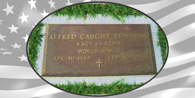 Alfred Caughy Edwards tombstone