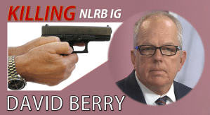 NLRB Inspector General David Potts Berry